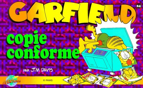 Garfield, tome 23 : Copie conforme