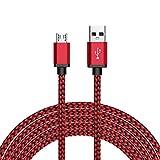 Micro USB Kabel Nylon, BeneStellar (Rot & Blau 3m* 2) High Speed USB 2.0 A Male auf Micro B Synchronisations und Ladekabel für Kindle, PS4/XBOX Controller, Samsung, Huawei, HTC, Sony, Nexus, Xiaomi und mehr.