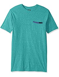 Body Glove Men's Cotton Polyester Pocket Short Sleeve T-Shirt,