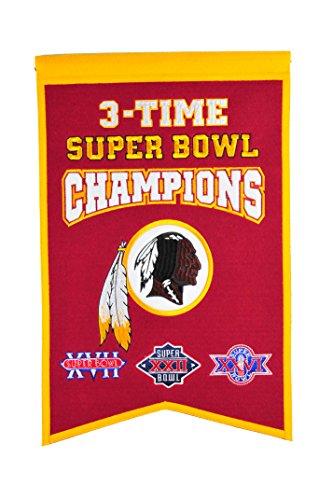 NFL Washington, Redskins Super Bowl Champions Banner