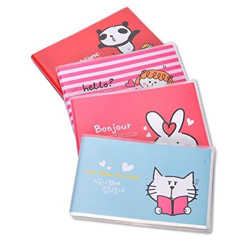 Enwraps soft bound multicolour set of 10 plain pocket notepad / memo...