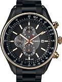 Timex E Class Chronograph Black Dial Men's Watch - T2N154