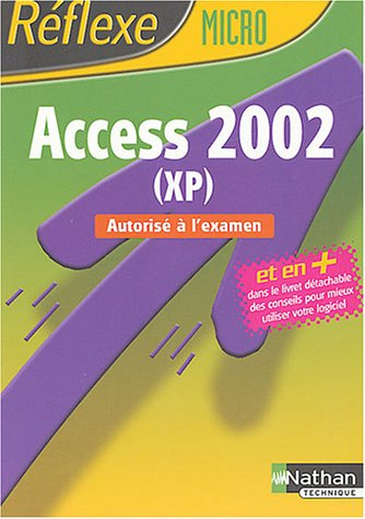 Access 2002 (XP)