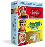 3 Gerry Anderson Classics - Supermarionation - Joe 90 / Captain Scarlet / Stingray [DVD] [1964]