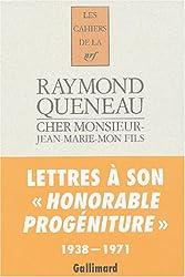 Cher monsieur-Jean-Marie-mon fils: Lettres, 1938-1971