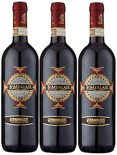 Trambusti Le Merlaie Chianti 2014 Wine 75 cl (Case of 3)
