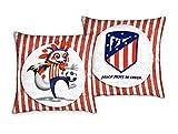 Atlético de Madrid. Cojines estampados de 50x50cm.con Licencia...