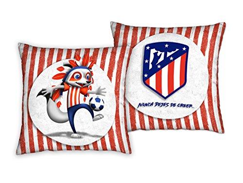Atlético Madrid. Cojines estampados 50x50cm.con Licencia