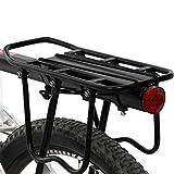 Bicicletta posteriore a sgancio rapido in lega di alluminio Mountain Bike portabagagli monovolume Rack per biciclette,Hardware e strumenti