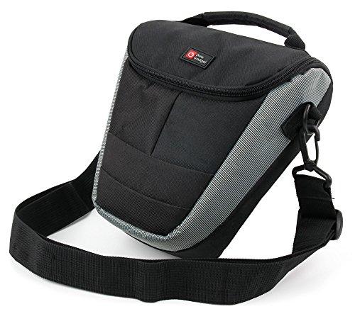 Duragadget borsa con maniglia e tracolla per nikon d5600   d5200   d5300   5100   d5000   d5500   d500   d5