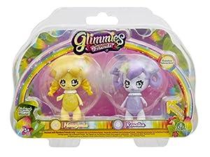 Glimmies-gln016-2Rainbow Friends 6cm-Modelos Honey MIA/renelka