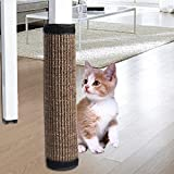 HUVE Cat Scratcher Mat Tavolo Sedia Divano Gambe Mat Sisal Cat Scratch Board Pavimento Scratching Tappeto Mobili Letto Materassino Protettore per Cat Grinding Claws