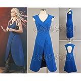 Game of Thrones Daenerys Targaryen Dress Costume