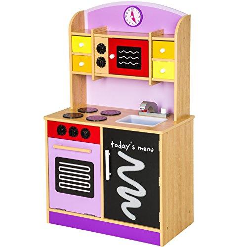 TecTake Cocina madera juguete niños juguete juego