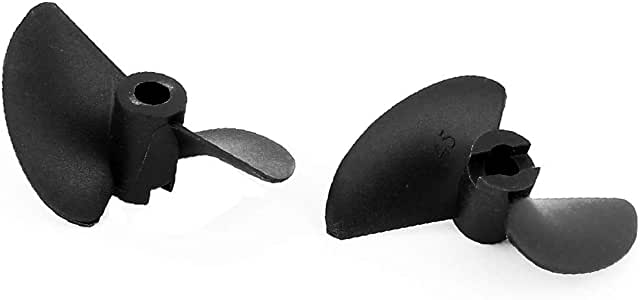 Kupfer 2-fach Rotierender rc-Boot Propeller 4,8 mm Loch 44mm x 11mm