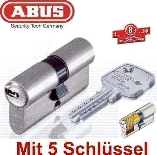 ABUS EC750 Extra Classe Profil-Doppelzylinder Länge 30/35mm mit 5 Schlüssel