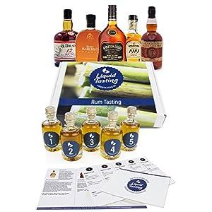 Rum Tasting Beginner (5x 40ml - für 2 Pers.)