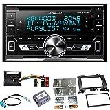 Kenwood DPX-5100BT Bluetooth USB CD Aux MP3 Autoradio Einbauset für Mercedes Sprinter W906 Crafter