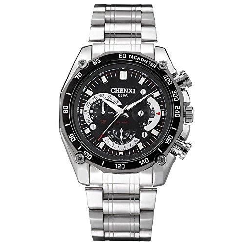 Hot Business High–End der Männer Sport Uhren CHENXI Quarz Uhren Herren Uhren Schwarz