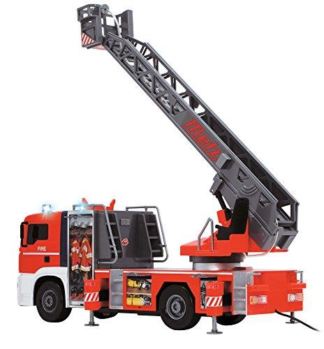 RC Feuerwehr kaufen Feuerwehr Bild 1: Dickie Toys 203719000 - Fire Patrol, kabelgesteuertes Feuerwehrauto, 50 cm*