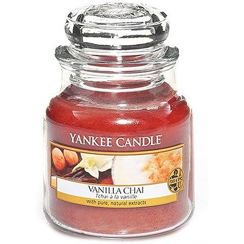 Yankee Candle vela en tarro, vainilla de incienso, small