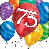 75. Geburtstag Ballon Blast Servietten Badger Inks Tonerpatronen