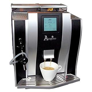Acopino Oderzo Kaffeevollautomat und Espressomaschine schwarz/silber