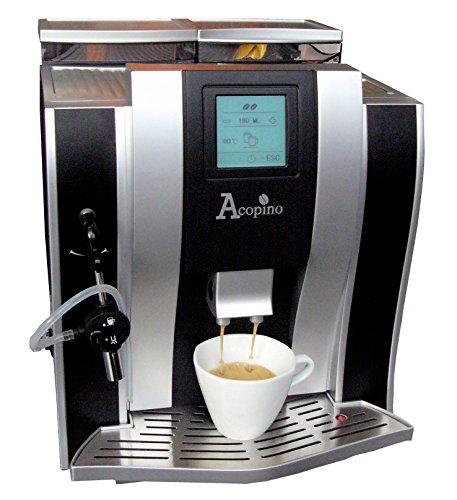Acopino oderzo machine à café et expresso-noir/argent