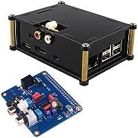 Kuman I2S Interface PiFi DIGI DAC+ HIFI Digital scheda audio + Acrylic Case per Raspberry pi 3 2 modulo B B+ V2.0 Board SC08C