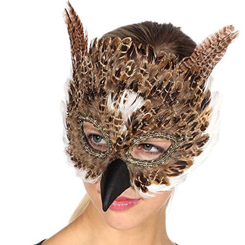 PARTY DISCOUNT Maske Eule ()