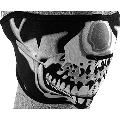 HELLFIRE Gesichtsschoner, Gesichtsmaske Gesichtsmaske 1.0 schwarz, Unisex, Multipurpose, Ganzjährig, Einheitsgröße