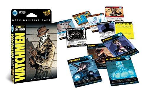 Don 't Panic Games-DC Comics Deck-Building Watchmen-Version Francesa (extensión N ° 2) Juego de Tablero, game1018, Crossover