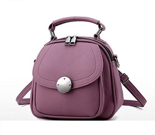Borsa A Tracolla Della Borsa Di Modo Semplice Estate Messenger Bag Purple