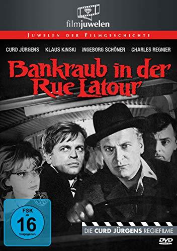 Bankraub in der Rue Latour - mit Curd Jürgens & Klaus Kinski (Filmjuwelen)