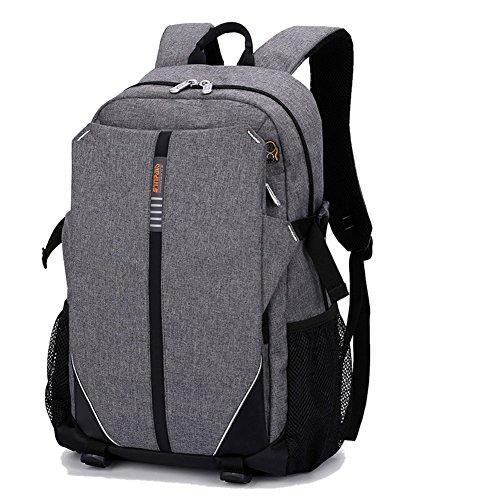 Rucksack Damen Herren Studenten Backpack Cieovo 17 Zoll Laptop Rucksack für 15,6' Notebook Lässiger Daypacks Schüler Backpacks Schultaschen für Wandern Reisen Camping