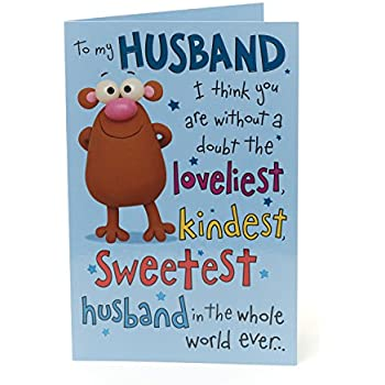 Party Supplies Medium Arts Crafts Hallmark Mickey Mouse Husband Birthday Card Handsome