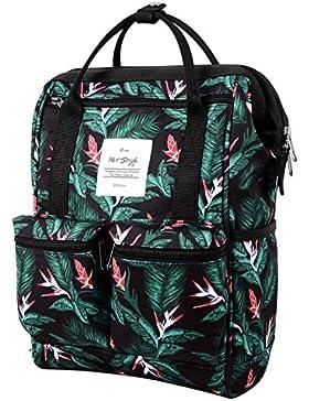 HotStyle DISA Fashion Blumen Damen Laptop Rucksack 9,7 zoll ( 37x23x14cm)