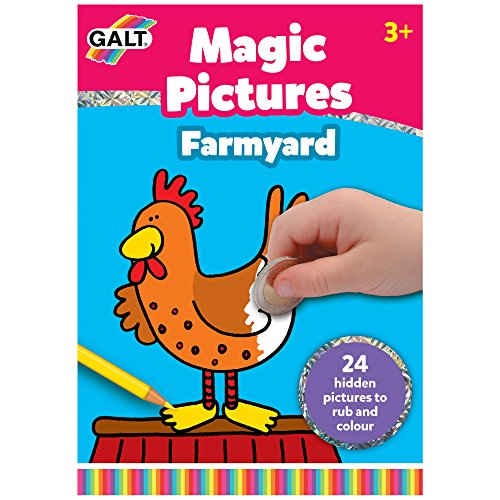 Galt Toys Pad Farmyard Magic Picture