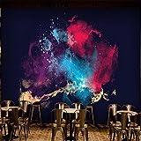 CICDGD Tapeten Tapeten-nordisches Art-Abstraktes Farbmuster 3D kundengerechtes Wandbild-Dekoration-Wohnzimmer/Schlafzimmer / Restaurant/Thema-Hotel/Fernsehwand