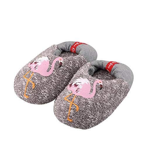 Yvonnelee Family Woman Girl Cute Cartoon Knit Winter Warm Outdoor Indoor Stripe House Home Cute Slippers Men Kids Children Boys 117