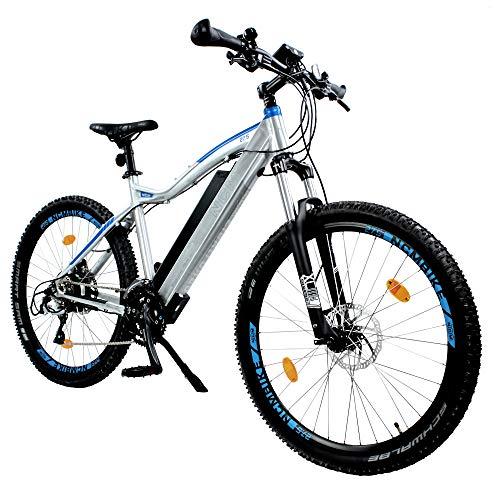 "NCM Moscow Plus E-Bike Mountainbike, 250W, 48V 14Ah/16Ah • 672Wh/768 Wh Akku, 27,5\""/29\"" Zoll (16Ah Silber Plus 27,5\"")"