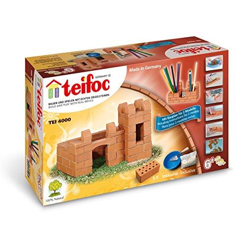 Faujas Sas Teifoc TEF-4000 - Juego de construcción de castillo de piedra y escritorio modular (importado de Alemania)