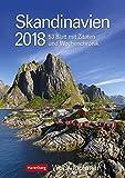 Skandinavien - Kalender 2018: Wochenplaner, 53 Blatt mit Zitaten und Wochenchronik