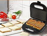 Kmianbaojx Piastre tostapane Macchina della Prima Colazione del tostapane della Macchina del panino della Famiglia dell'Acciaio Inossidabile 24 * 24 * 23cm