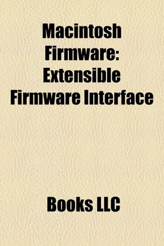 Macintosh Firmware: Extensible Firmware Interface (Paperback)-cover