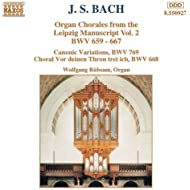 Bach, J.S.: Organ Chorales From The Leipzig Manuscript, Vol. 2