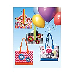 McCall's Patterns M7171 Tote Bags Sewing Template, One Size Only