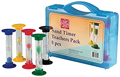 Eduscience Teacher's Sand Timer (Pack of 5) from Edu-Science