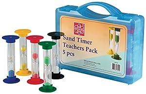 Edu Science Temporizador de arena para el profesor (5 unidades)