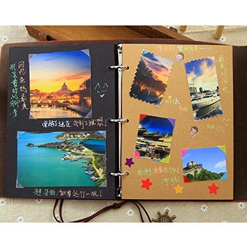 Popolare Saibang Album per foto per fai-da-te, matrimonio, scrapbooking  GK88